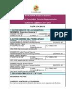 Quimica General I 10311001