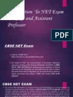 Cbse Net Exam