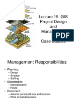 Lecture 19– GIS Project Design and Management Case Studies