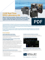 Lab-Volt 2-Kw Data Sheet