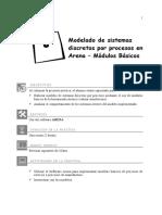 Laboratorio 05 - Modelos de Sistemas Discretos Por Procesos Con Arena - Módulos Básicos