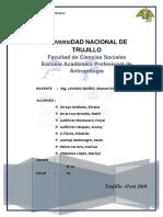 Informe de Huayllagual
