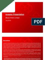 Investor Presentation July10