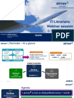 Airbus 1803 AirnavX Intranet IT Webinar