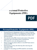 Personal Protective Equipments (PPE)