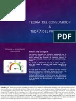 Teoría Del Consumidor & Productor