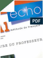 Écho A1 - Livre du professeur.pdf