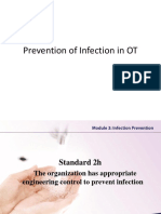 Prevention of Infection in OT