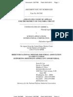 Usavsaic Appeal09-5385 Brief