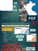 Exposicion Final - Gestion de Riesgo de Desastre