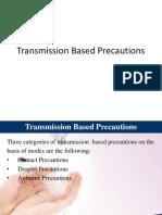 Transmission Based Precautions