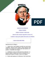 UMBEKANNTER [2003] E-book de mágicas 073pp + anexo 008pp [2003] BR 081