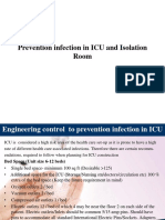 Prevention Infection in ICU and Isolation Room