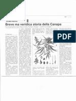 Breve Ma Veridica Storia della Canapa