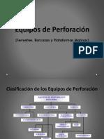 2.-Clasificación de Los Equipos de Perforación