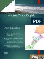 District Elections Presentation at the April 11, 2018 Meeting of the Coastside Progressive Democrats