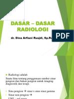 5.1 Dasar – Dasar Radiologi