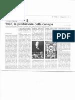1937 La Proibizione della canapa(2parte)