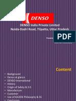 Denso India PPT