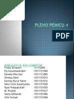 PLENO PEMICU 4 DK 9