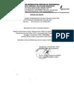 Penundaan Seleksi Penerimaan Pegawai Non PNS RSUP Dr Kariadi Tahun 2017