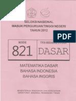 Naskah Soal SNMPTN 2012 Tes Bidang Studi DASAR Kode Soal 811 by [pak-anang.blogspot.com].pdf