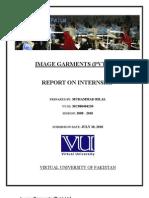 Internship Report - Muhammad Bilal