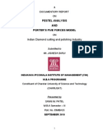 Pestal Analysis and Porters' Five Force Model on Diamond Industry