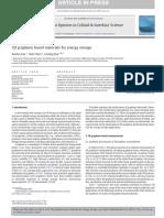 3D Graphene Based Materials for Energy Storage