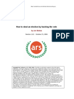 EN-How To Steal An Election By Hacking The Vote.pdf