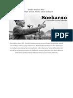 Konspirasi Soekarno Dan John F Kenedy
