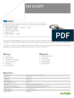 Load Cell Data Sheet