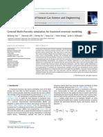 General Multi-Porosity Simulation for Fractured Reservoir Modeling