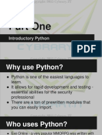 Introductory Python