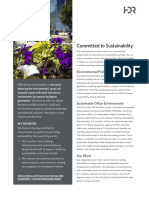 Sustainability at HDR