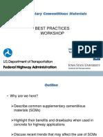 SCMs Best Practices Workshop