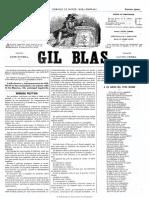 Gil Blas (Madrid. 1864). 29-3-1868