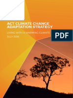 ACT Climate Change Adaptation Strategy