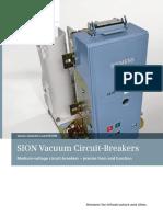 SION Vacuum Circuit Breakers Flyer 7072