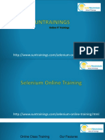 Selenium course descrition