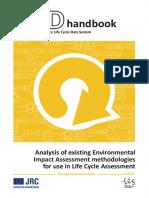 JRC ILCD Handbook LCIA Background Analysis Online 12March2010