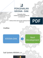 Pengenalan Aplikasi Krisna DAK 2019