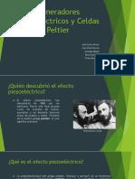 Generadores y Celdas Peltier