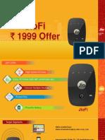 JioFi 1999 Offer