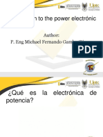 Lecture 1. Introduction to the Power Electronic