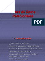 13avo Bases de Datos Relacionales 2017a