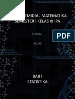 Tugas Remidial Matematika Semester 1 Smada