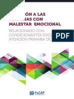 Atención a Las Personas Con Malestar Emocional Relacionado Con Condicionantes Sociales en Atención Primaria de Salud