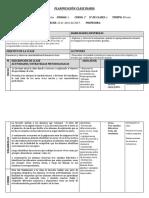 Planificación Clase Ciencias Naturales. 1