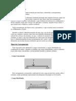 CONCEITO de VIGA Diagrama de Momento Fletor e Esforço Cortante